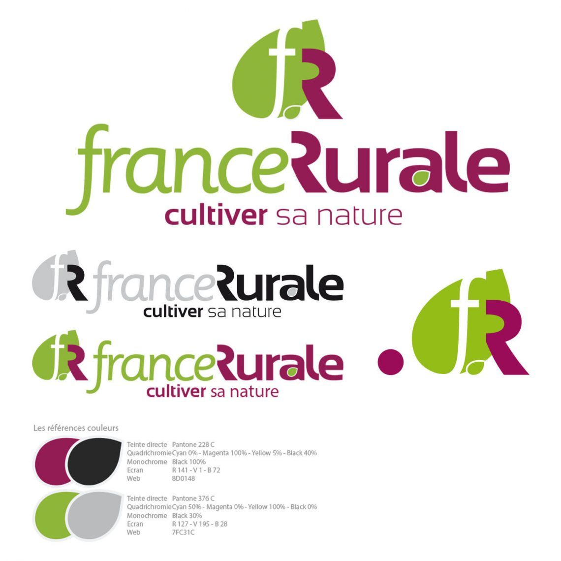 Identité visuelle France Rurale par IS COMMUNICATION