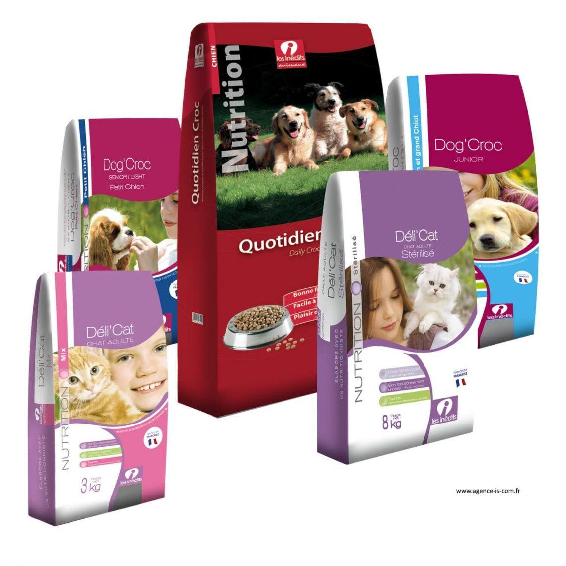 Packaging de la marque Inédits de la groupe Inédis