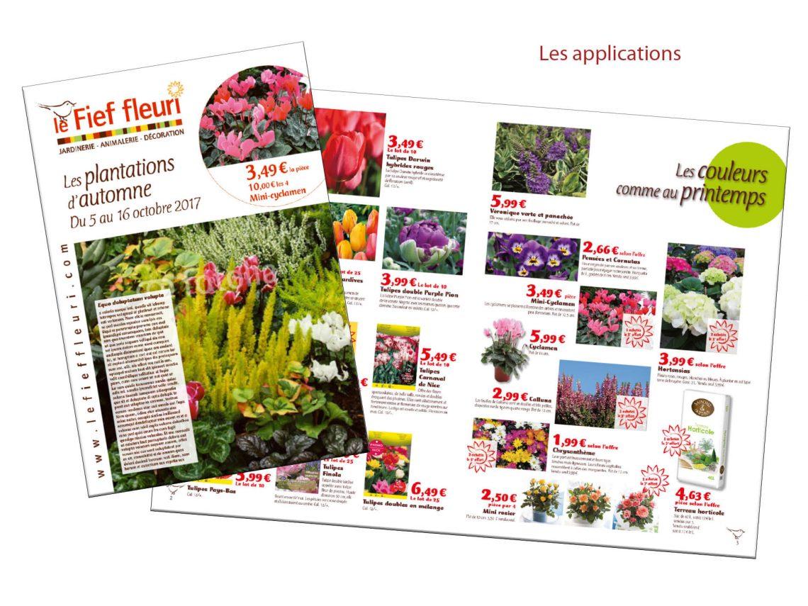brochure Fief Fleuri par IS COM