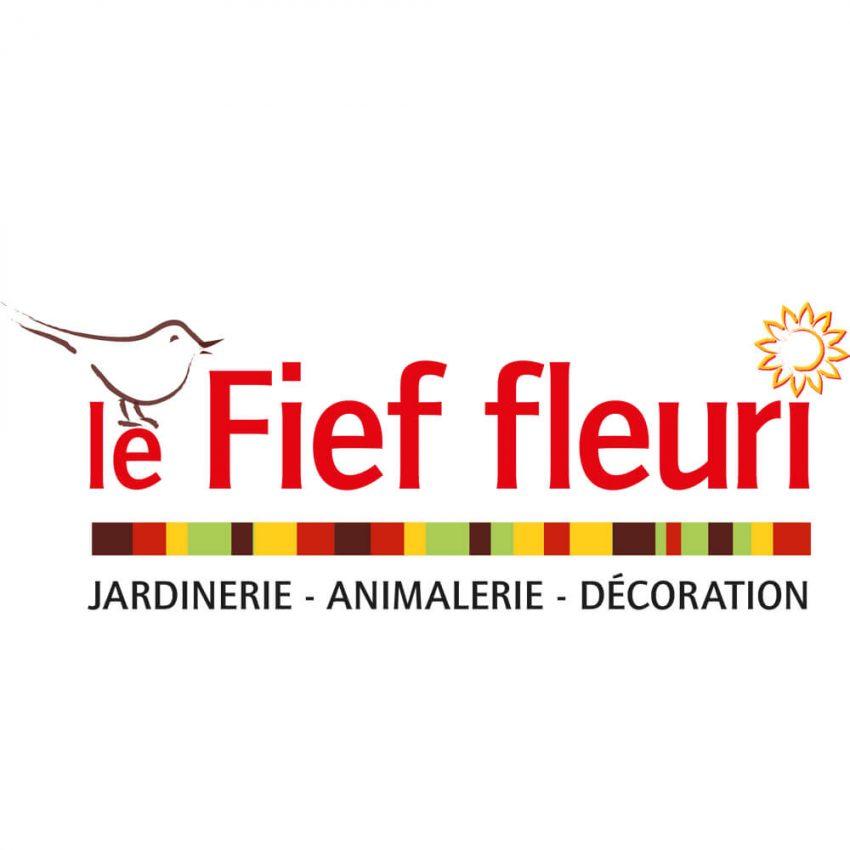 Logotype le Fief fleuri par IS COM