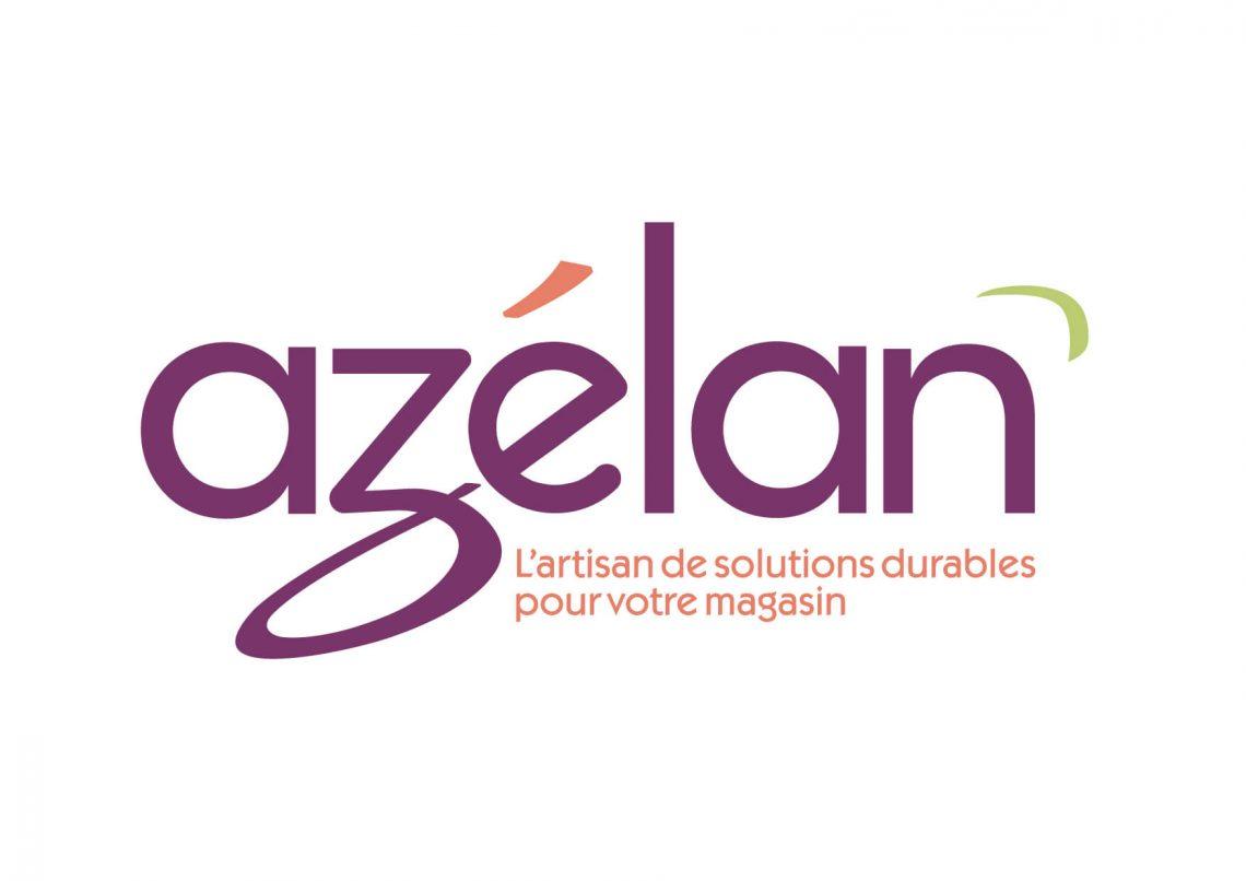 Logotype Azelan- Agence IS COMMUNICATION